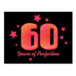 60 jaar van Perfectie Wenskaart