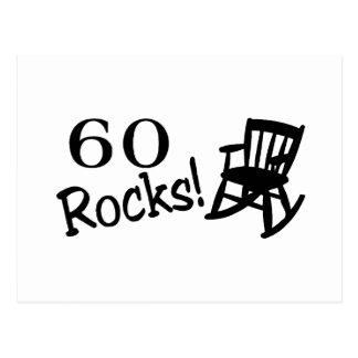 60 rotsen (Tuimelschakelaar) Briefkaart