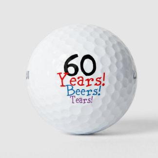 60ste Verjaardag Golfballen