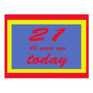 61 jaar oud kaarten uitnodigingen fotokaarten meer - Kamerjongen jaar oud ...