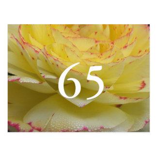 65ste Verjaardag Briefkaart