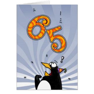 65ste Verjaardag - de Kaart van de Verrassing van
