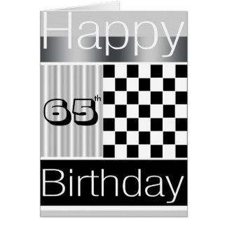 65ste Verjaardag Kaart