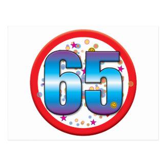 65ste Verjaardag v2 Briefkaart