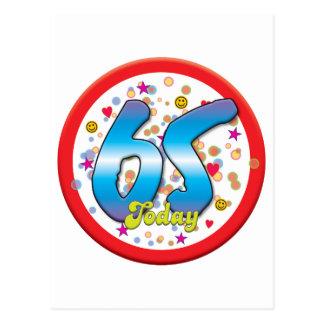 65ste Verjaardag vandaag Wenskaarten