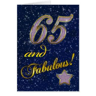 65ste verjaardag voor Fabelachtig iemand Wenskaart