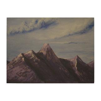 6 zonder titel houten canvas prints