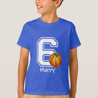 6de voetbal personaliseren-2 van het Feestvarken T Shirt