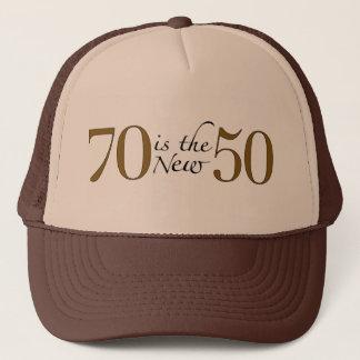 70 is Nieuwe 50 Trucker Pet
