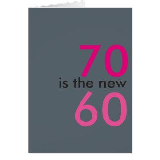 70 zijn nieuwe 60, hoo-straal voor crap kaart