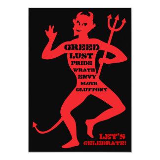 70ste Verjaardag - Hel van een Partij 12,7x17,8 Uitnodiging Kaart