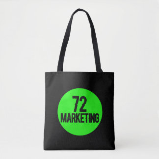 72marketing de zakbeurs van het logobolsa draagtas