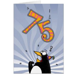 75ste Verjaardag - de Kaart van de Verrassing van