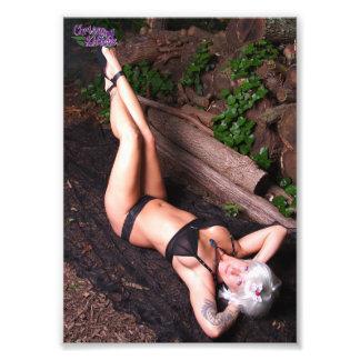 """7 de Dolk en de Logboeken van"""" x 5"""" Katjes Chrissy Foto Print"""