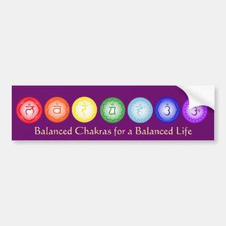 7 de Sticker van de Bumper Chakras