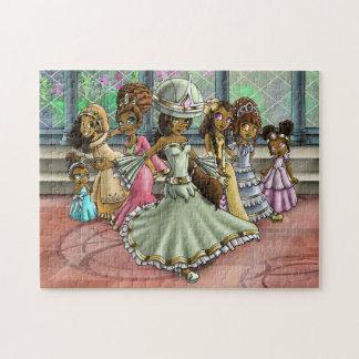 """""""7 het Raadsel van Prinsessen"""" 11x14 met de Doos Puzzel"""