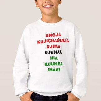 7 principes van Kwanzaa Trui