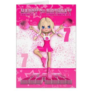 7de Verjaardag Cheerleader die, Sterren in Pinks Kaart