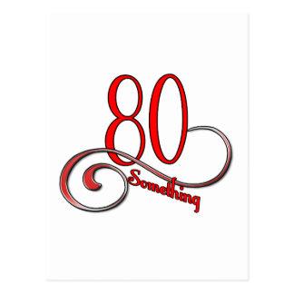 80 iets briefkaart