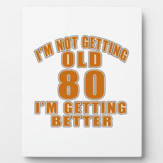 80 Ik word beter Platen