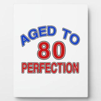 80 verouderd aan Perfectie Foto Platen