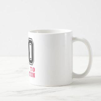 80 verouderd aan Perfectie Koffiemok