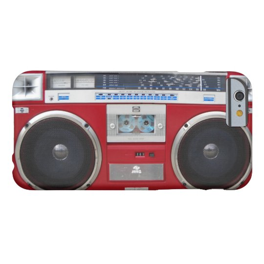 80'S GHETTOBLASTER 002 BARELY THERE iPhone 6 HOESJE