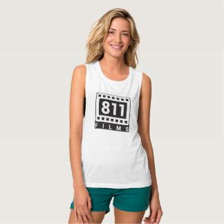 811 de spiermouwloos onderhemd van het Logo van Zwangerschapskleding