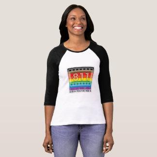 811 Jersey van het Logo van de Regenboog van films T Shirt