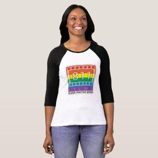 811 T-shirt van het Honkbal van het Logo van de