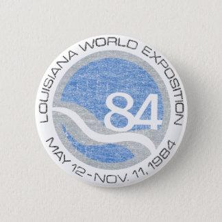 84 de Markt van werelden Ronde Button 5,7 Cm