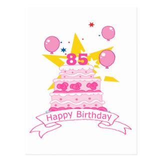85 de Cake van de Verjaardag van éénjarigen Briefkaart