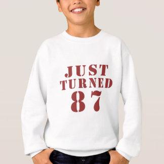 87 enkel Gedraaide Verjaardag Trui