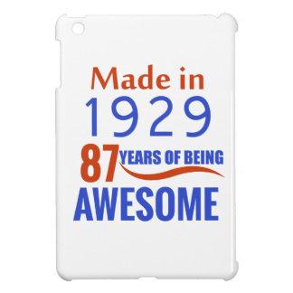 87 verjaardagsontwerp iPad mini cover