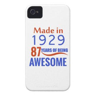 87 verjaardagsontwerp iPhone 4 hoesje