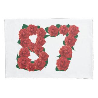 87ste verjaardag de dekking van het 87 kussensloop