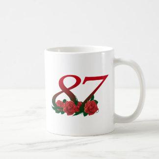 87ste Verjaardag of Nummer 87 Koffiemok
