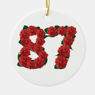 87ste Verjaardag of Nummer 87 Ornament