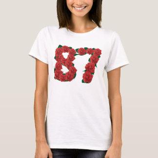 87ste Verjaardag of Nummer 87 T Shirt