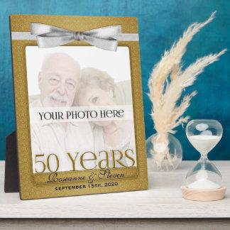 8x10 het gouden 50ste Lijst van de Foto van het Ju Fotoplaat