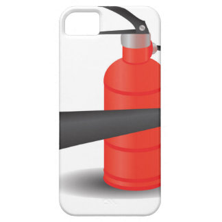 90Fire Extinguisher_rasterized Barely There iPhone 5 Hoesje