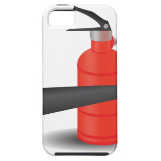 90Fire Extinguisher_rasterized Tough iPhone 5 Hoesje
