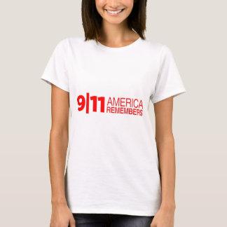 911 Amerika herinnert zich T Shirt