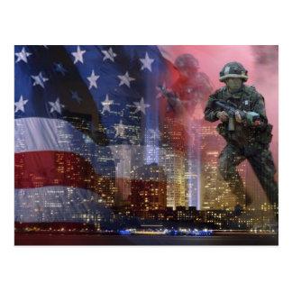 911 tweelingTorens Briefkaart