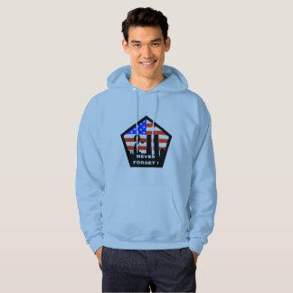 911 vergeet mannen hoodiesweatshirt nooit met een hoodie