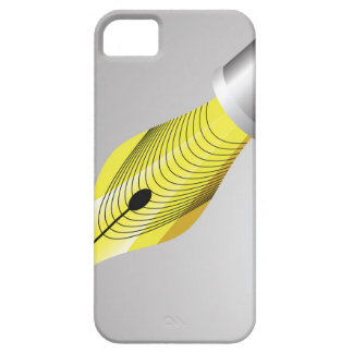 95Shiny vulpen Nib_rasterized Barely There iPhone 5 Hoesje