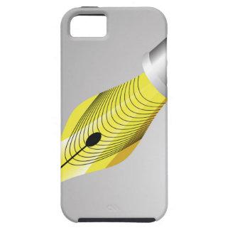 95Shiny vulpen Nib_rasterized Tough iPhone 5 Hoesje