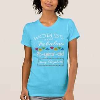 95ste Verjaardag het Meeste Fabelachtig Kleurrijk T Shirt