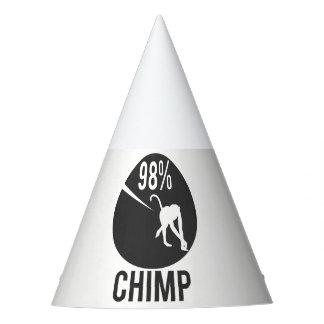 98% chimpansee feesthoedjes