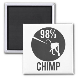 98% chimpansee magneet